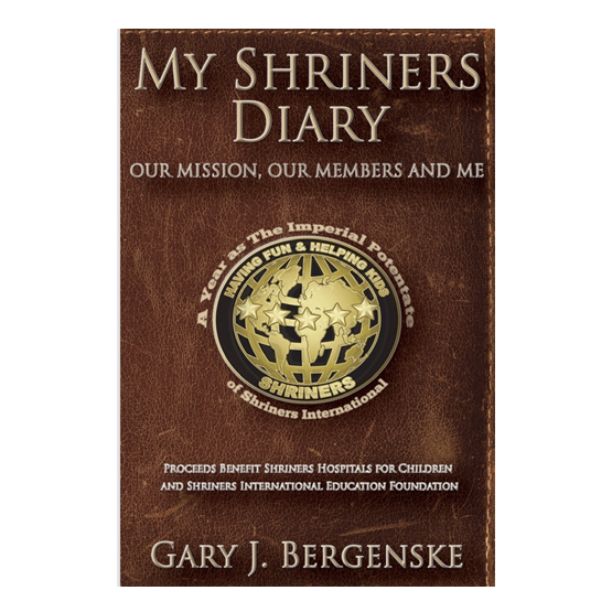 My Shriners Diary Large